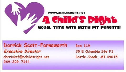 Darrick Scott-Farnsworth - Executive Director of A Child's Right